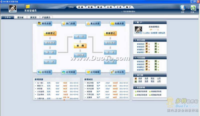 易遨ERP演示系统下载