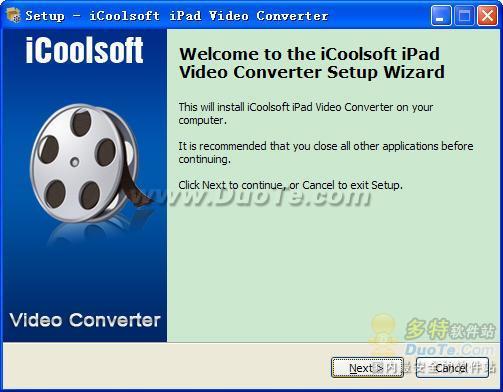 iCoolsoft iPad Video Converter下载