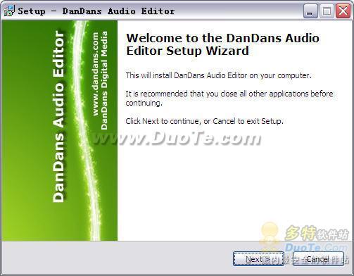 DanDans Audio Editor下载