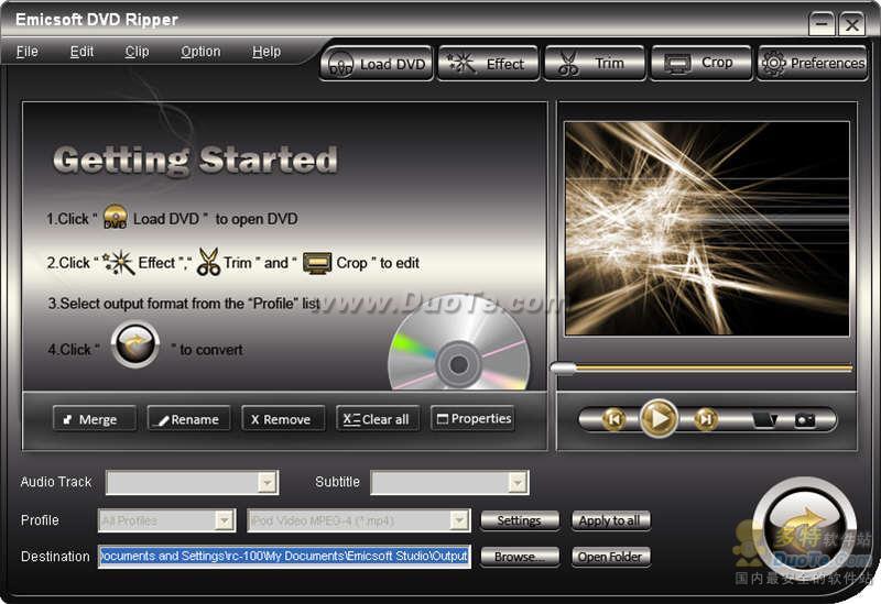 Emicsoft Video Converter + DVD Ripper Ultimate下载