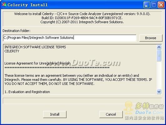 Celerity C/C++源代码阅读和维护器下载