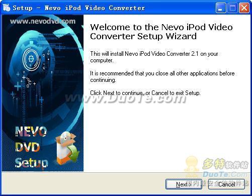 Nevo iPod Video Converter下载
