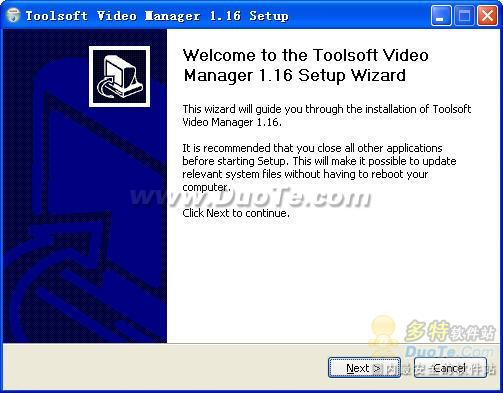 Toolsoft Video Manager下载