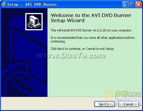 AVI DVD Burner下载