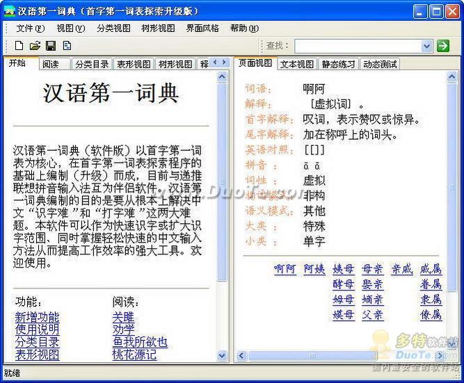 汉语第一词典下载