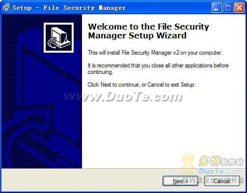 File Security Manager下载