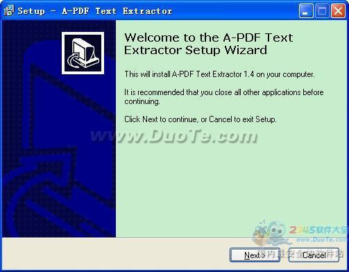 A-PDF Text Extractor下载