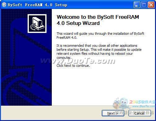 【BySoft FreeRAM】BySoft FreeRAM V4.0.5.117官方免费下载