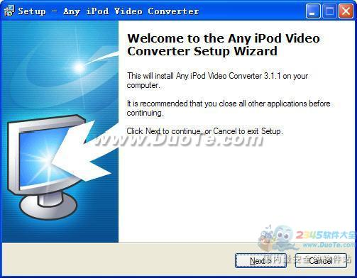 Any iPod Video Converter下载