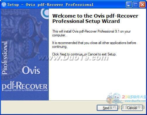 pdf-Recover Professional下载
