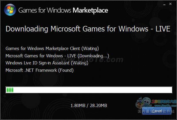 Microsoft Games for Windows LIVE下载