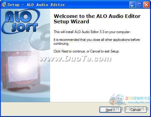 ALO Audio Editor(音频编辑工具)下载