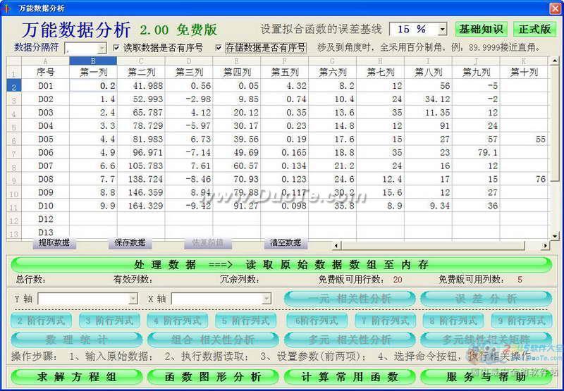 万能数据分析下载