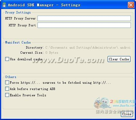 电脑安卓模拟器Android SDK下载