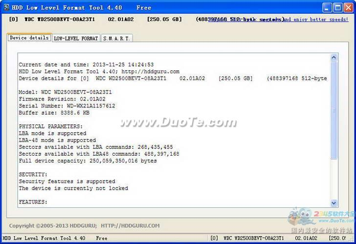 HDD Low Level Format Tool下载