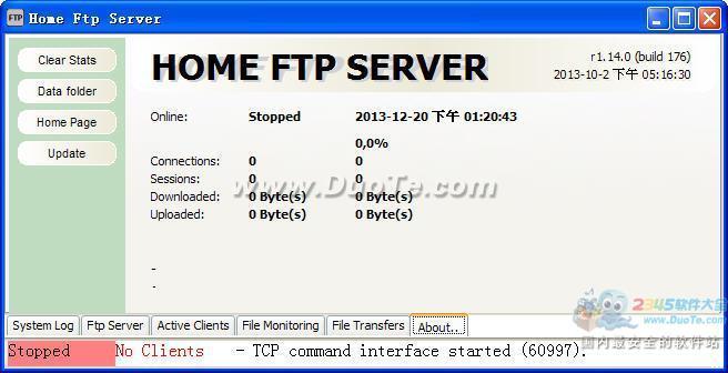 Home Ftp Server(家庭FTP服务器)下载