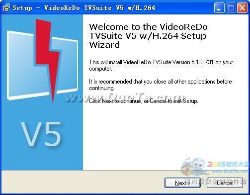 VideoReDo TVSuite(视频捕捉、转换、编辑工具)下载