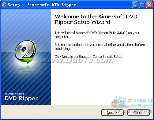 Aimersoft DVD Ripper下载