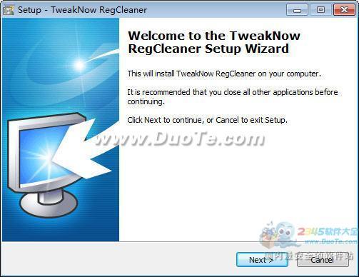 TweakNow RegCleaner下载