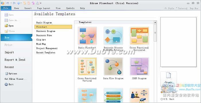 EDraw Flowchart Software下载