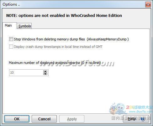 WhoCrashed(显示驱动程序导致电脑死机)下载