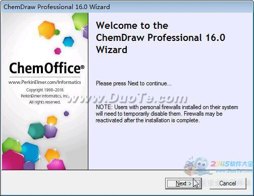 ChemDraw Pro 16(化学反应方程式编辑器)下载