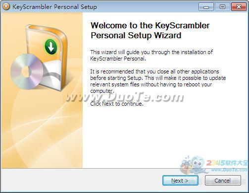 KeyScrambler Personal (键盘防记录保护工具)下载