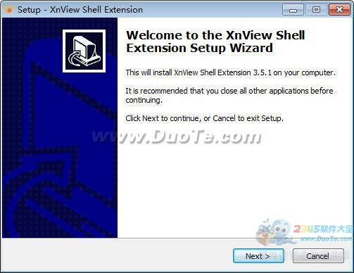 XnView Shell Extension 64位下载