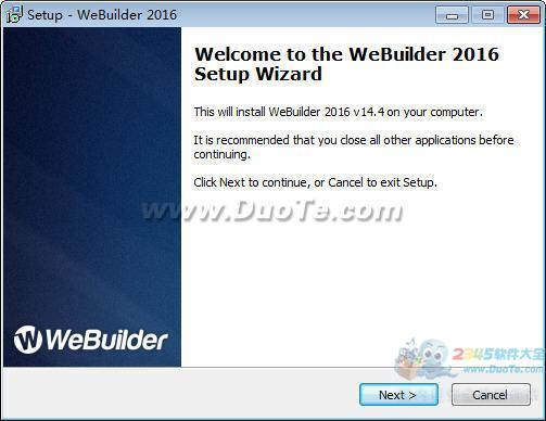 WeBuilder 2016下载