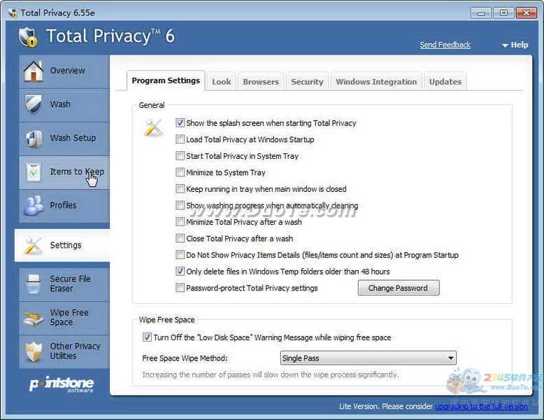 Total Privacy(清除痕迹保护隐私工具)下载