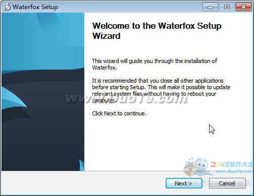 Waterfox(水狐浏览器) 64位下载