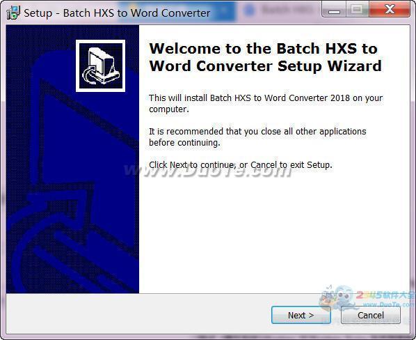 Batch HXS to Word Converter(HXS转Word转换器)下载