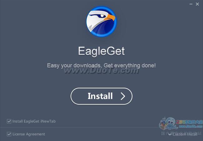 猎鹰高速下载器(EagleGet)下载