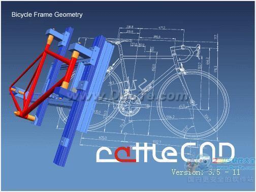 rattleCAD(自行车设计图纸软件)下载