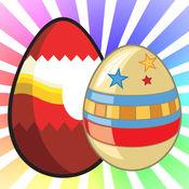 复活节彩蛋糖果庆祝狩猎