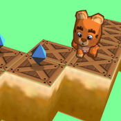 Zigzag jumpy bear 3D跳跃和运行