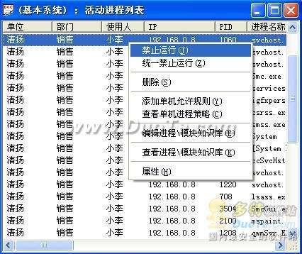 上网管理技巧之一:禁用BT等各种下载工具