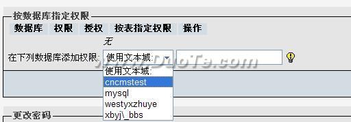 phpMyadmin创建数据库及独立数据库帐号