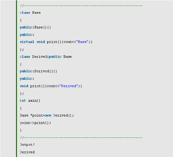 C++ Virtual详解