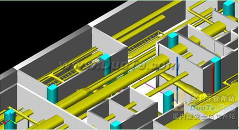 浩辰CAD教程之暖通专业轴流风机