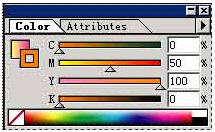 Illustrator 8.0基础入门教程之浮动面板(1)