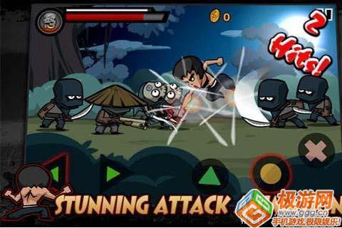 《功夫之王》敌方兵种及主角技能一览