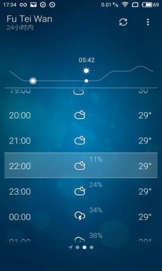 天气预报3D软件截图2