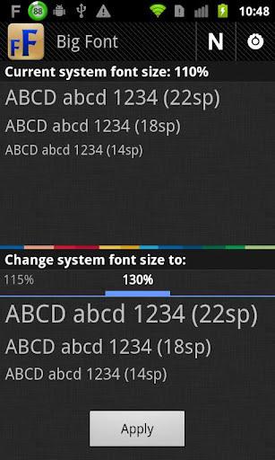 改变系统字体大小软件截图2