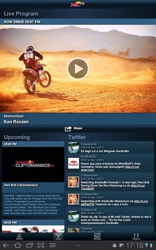 Red Bull TV软件截图1
