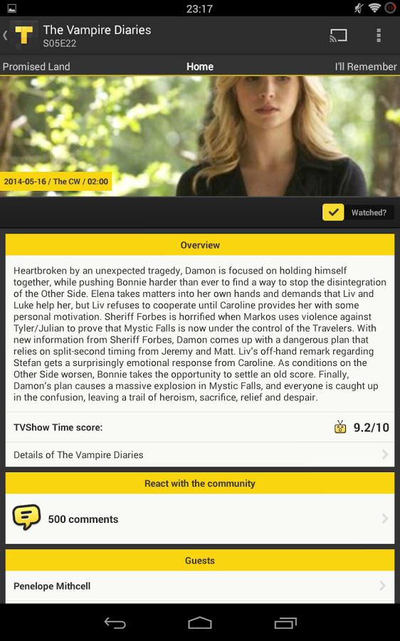 TVShow Time,追剧向导软件截图3