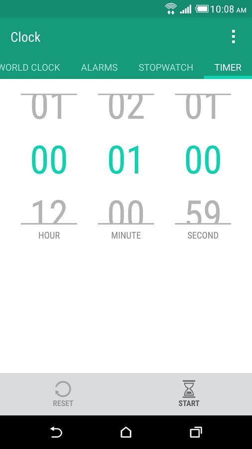 HTC 时钟软件截图3