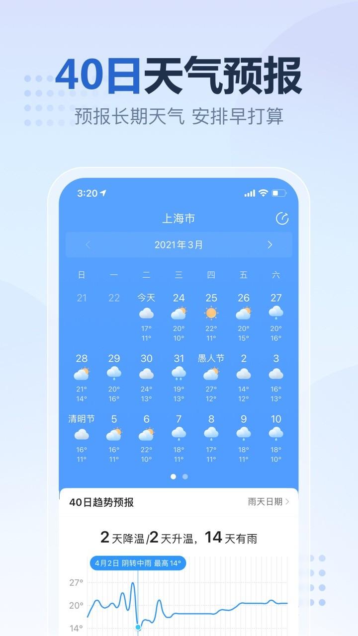 2345天气预报软件截图1