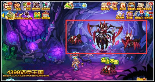 4399洛克王国恶魔狼蛛怎么得在哪抓 恶魔狼蛛获取方法分享