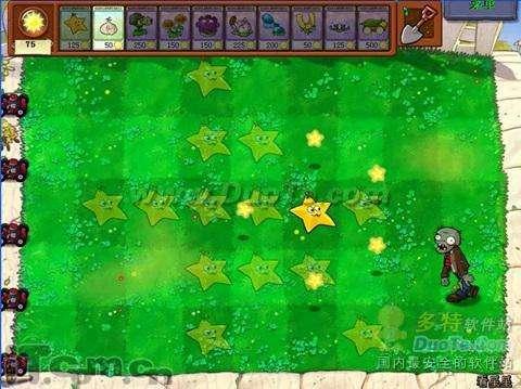 《植物大战僵尸》看星星两卡通关教程